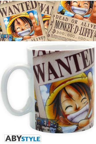 Taza - One Piece - Luffy