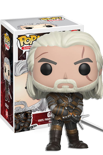 Games Funko Pop The Witcher-Geralt