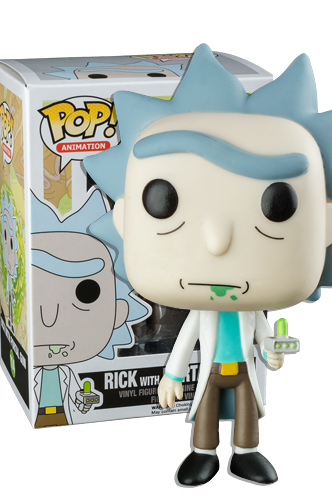 Pop Animation Rick And Morty Rick With Portal Gun Ex