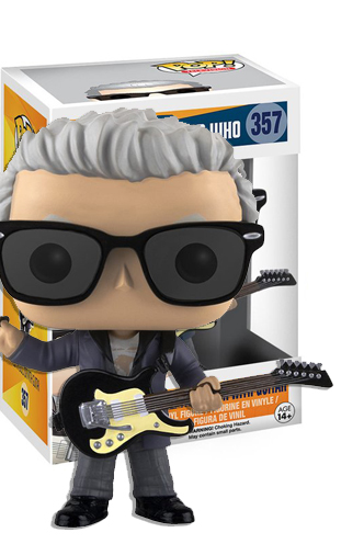 Pop Tv Doctor Who 12th Doctor With Guitar Funko