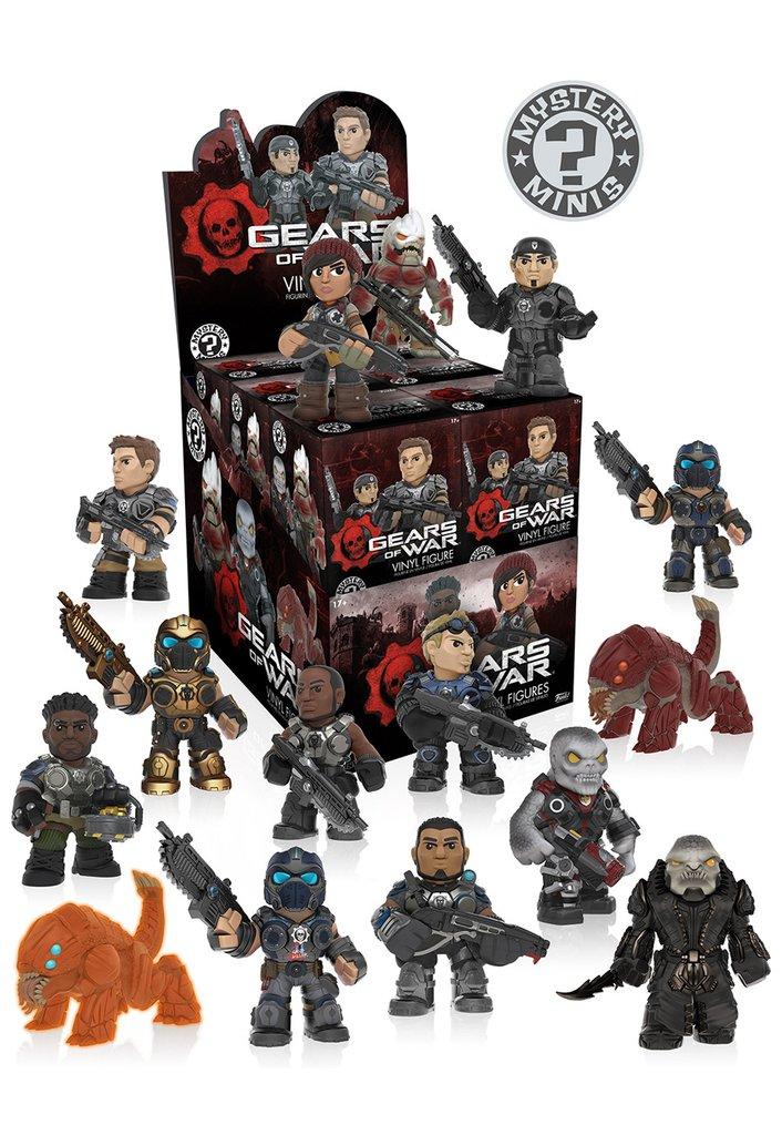 Mystery minis gears of war universo funko planeta de for Gears of war juego de mesa