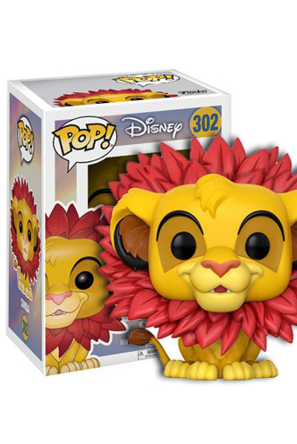 Pop Disney The Lion King Simba Funko Universe