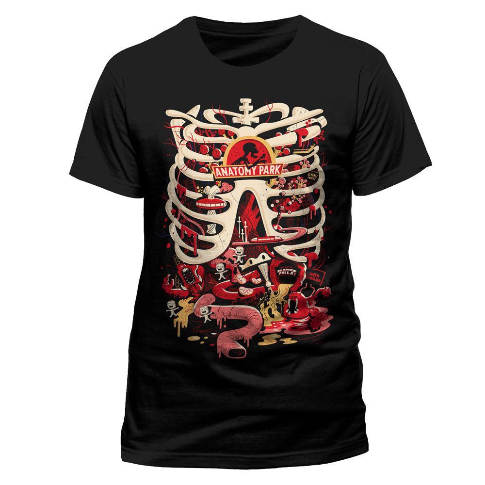 Rick y Morty - T-shirt Anatomy Park | Funko Universe, Planet of ...