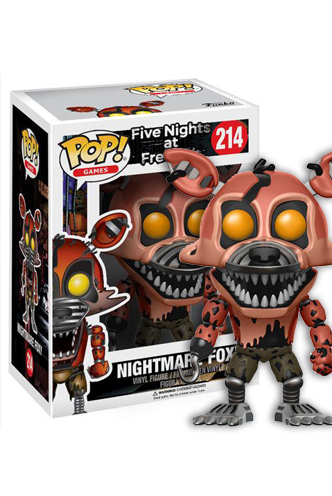 Vinyle Games Pop FunKo FNAF 13733 Nightmare Foxy
