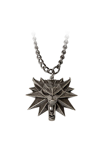 The witcher wild hunt medall n con collar wolf universo for The witcher juego de mesa