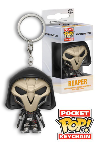 Action- & Spielfiguren Overwatch Reaper POP Vinyl Keychain