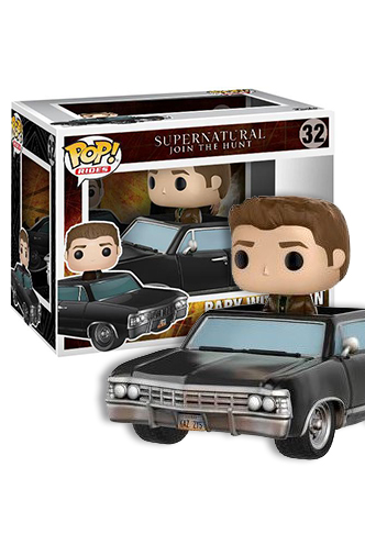 Pop Tv Rides Supernatural Dean Amp Baby Sdcc 2017