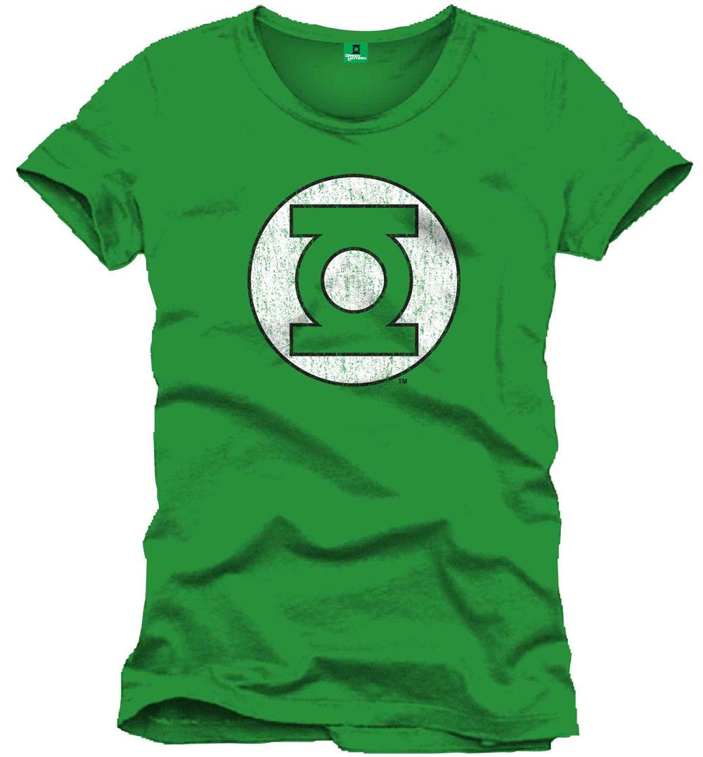 green lantern t shirt logo green funko universe. Black Bedroom Furniture Sets. Home Design Ideas