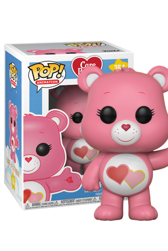 Pop! Animation: Care Bears - Love-A-Lot Bear | Funko ...