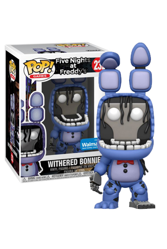 pop games five nights at freddy s withered bonnie exclusive