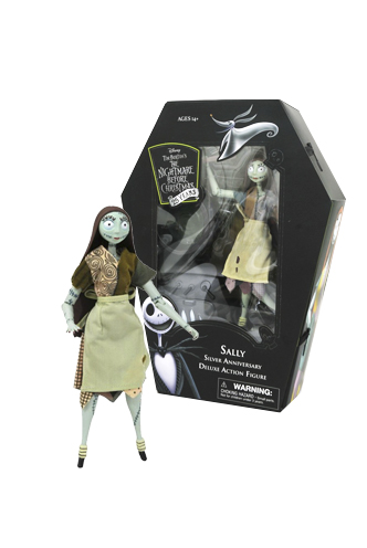 Nightmare before Christmas - Silver Anniversary Action Figure Sally | Funko Universe, Planet of comics, games and collecting.