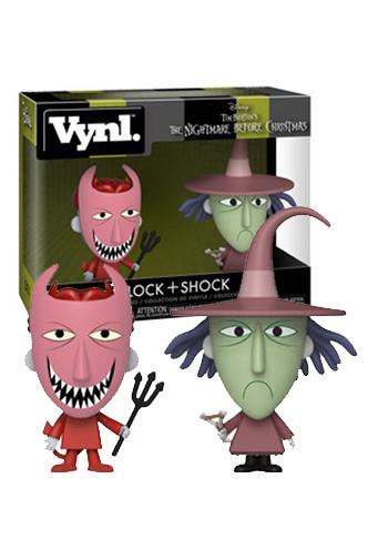 Vynl Nightmare Before Christmas Lock Shock Funko Universe