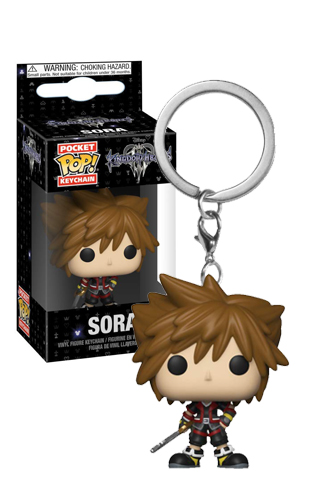 Pop! Keychain: Kingdom Hearts 3 - Sora | Funko Universe, Planet of