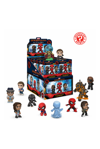 Mystery Minis Spider Man Far From Home Funko Universe