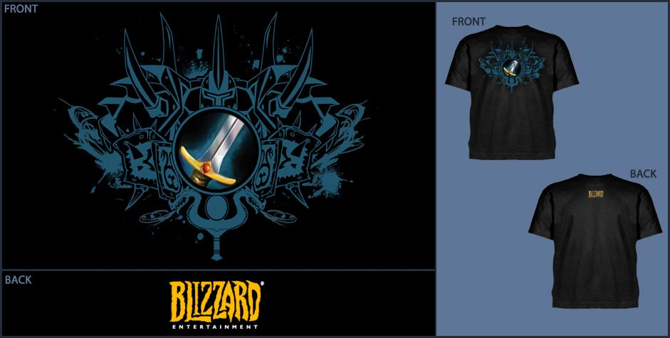 Camiseta - World of Warcraft - Clase Guerrero ...