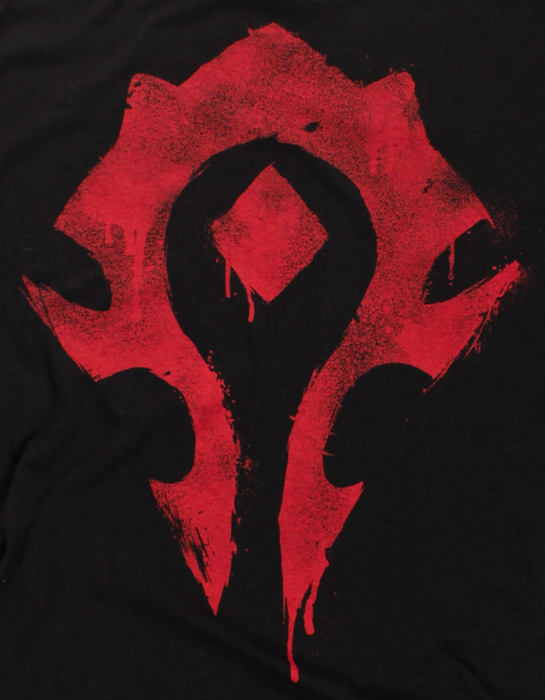 "Camiseta - World of Warcraft - ""Spray Horda"" 