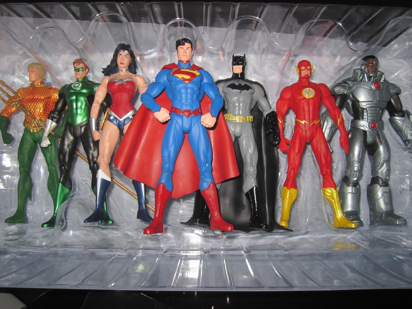 Dc Collectibles Justice League New 52 Pack 7 Figuras De