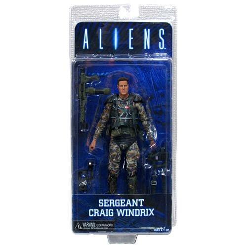 NECA Series 2 Aliens Sergeant Windrix 7 Action Figure
