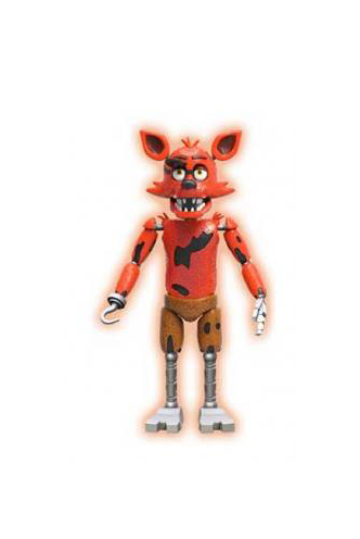 five nights at freddys foxy action figure
