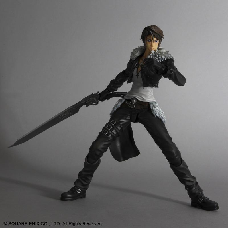 Dissidia Final Fantasy Play Arts Kai Figura Squall Leonheart 23 cm