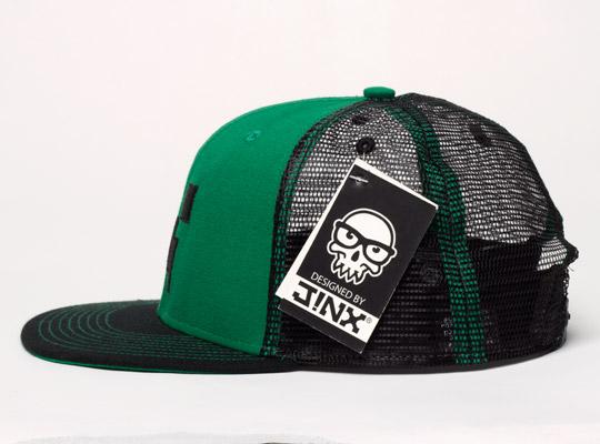 Minecraft Creeper Face Premium Snap Back Cap  62eafe1834f