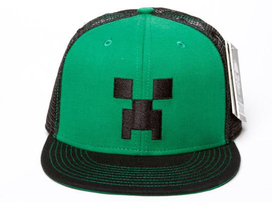 Minecraft Gorra plana Creeper  170afb59729