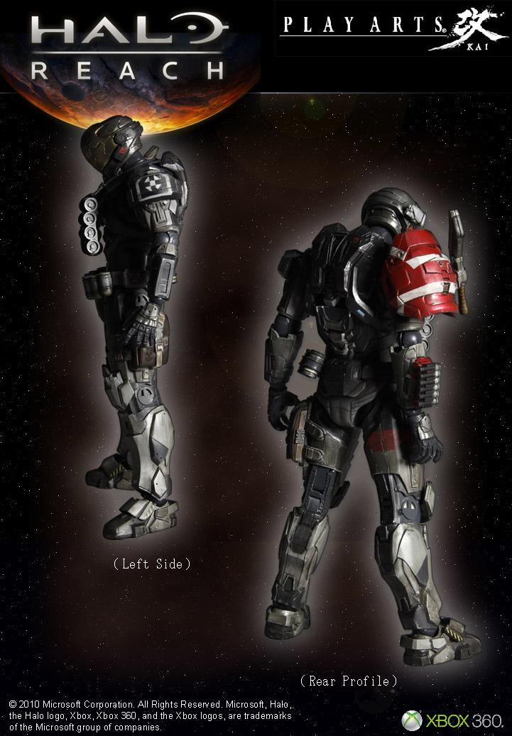 Halo Reach Play Arts Figure Emile | Funko Universe, Planet of comics