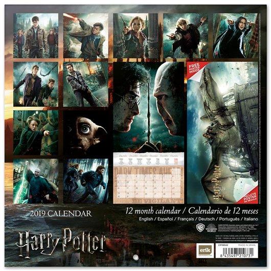 Calendario Harry Potter.Harry Potter Calendar 2019 Funko Universe Planet Of