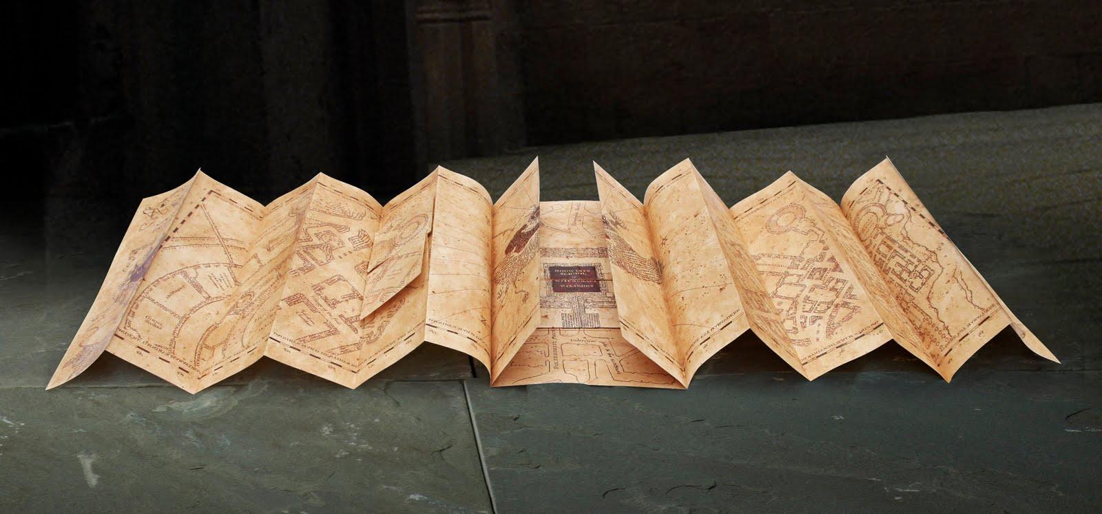 Harry Potter Mapa Del Merodeador Universo Funko