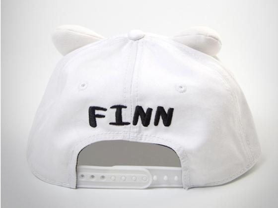 0b0cf2b87b0 Adventure Time Finn White Cap