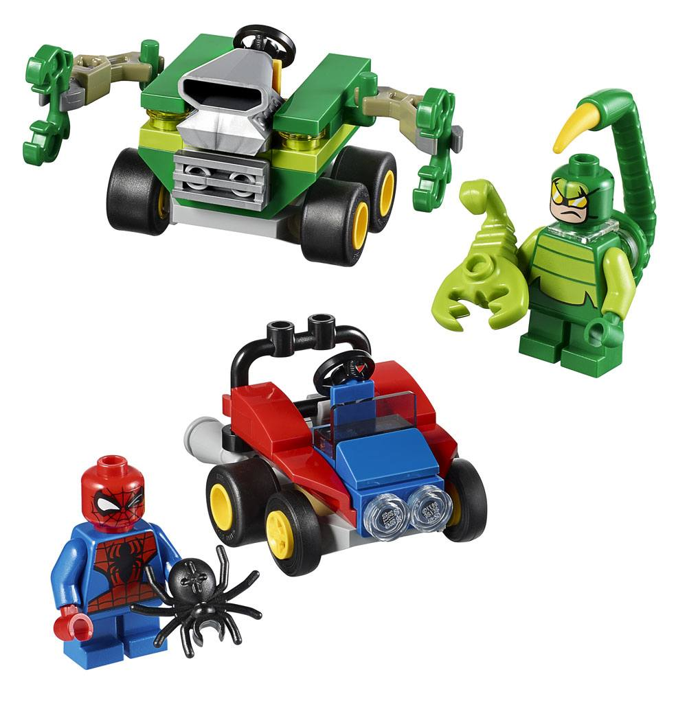 LEGO Marvel Super Heroes - Mighty Micros Spider-Man vs ...
