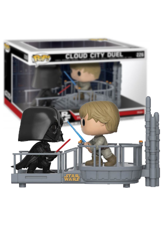 Pop Star Wars Movie Moment Cloud City Duel Ex Funko Universe Planet Of Comics Games And Collecting