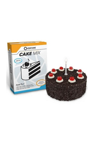 Portal 2 Cake Mix Chocolate Cherry