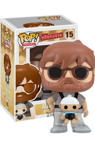 Pop Movies Alan With Baby Vinyl Figure Funko Universe Planet Of