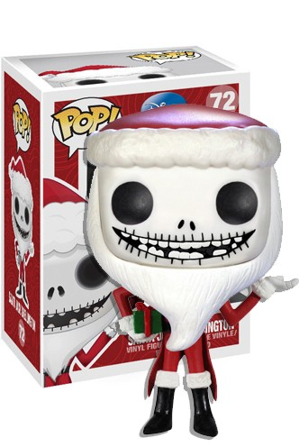 Pop! Disney: Nightmare Before Christmas - Santa Jack Skellington