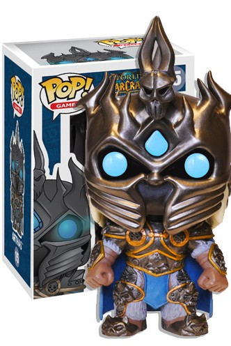Pop Games World Of Warcraft Arthas Funko Universe