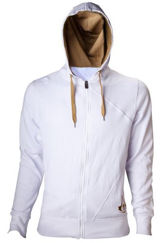Assassins Creed White Hoodie