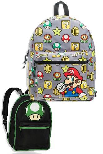 venta minorista a02ae d64e5 Mochila Reversible - Nintendo