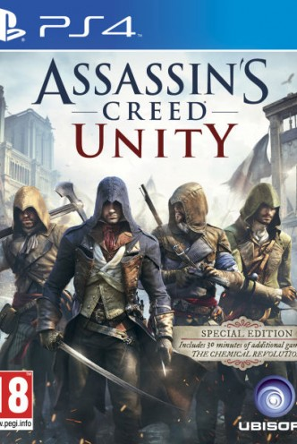 ASSASSIN'S CREED UNITY SPECIAL EDITION - PlayStation 4