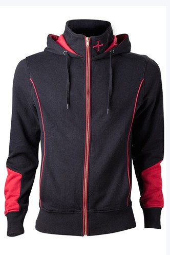 Assassins Creed Rogue -Black Hoodie - Print