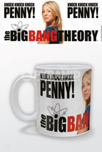 Taza the big bang theory knock knock knock penny for Decoracion piso big bang theory