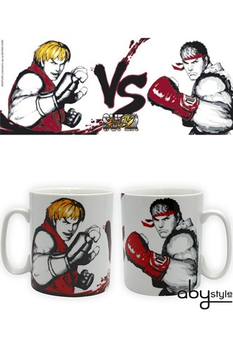 Mug Super Street Fighter Iv Ryu Vs Ken Funko Universe
