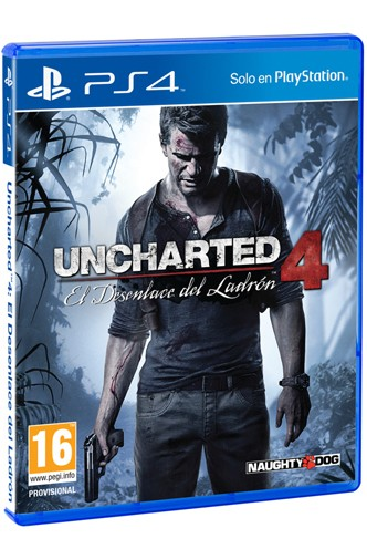 Uncharted 4: El desenlace del ladrón - PS4