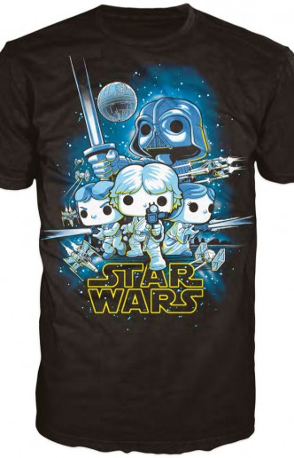 "Pop! Tees: Star Wars - A New Hope ""Limited Edition"""