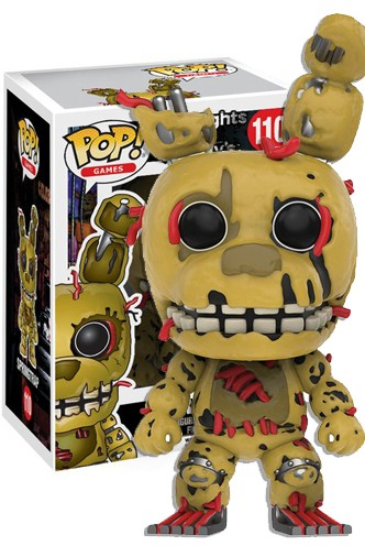 Pop Games Five Nights At Freddy S Springtrap