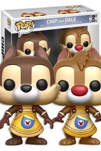 Pop! Disney: Kingdom Hearts - Chip & Chop