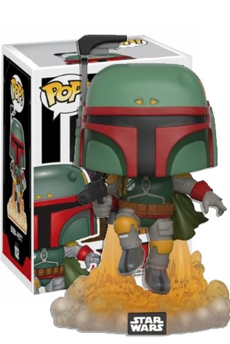 "Pop! Star Wars: BOBA FETT ""Jet Pack"" ¡Exclusiva!"