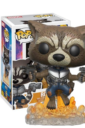 Pop! Marvel: Guardianes de la Galaxia Vol. 2 - Rocket