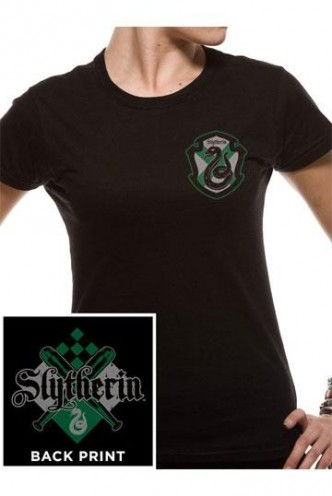 Harry Potter - Camiseta Chica House Slytherin