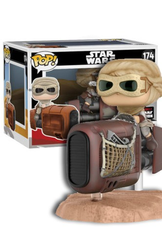 POP! Star Wars Episodio VII - Rey con Speeder Exclusivo